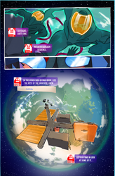 The Sci-My Lie Issue1 Page7, a new weekly WebComic by CandyAppleFox