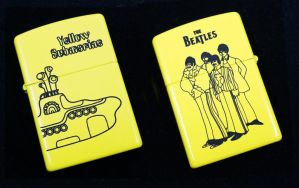 Yellow Submarine Zippo by Katlinegrey