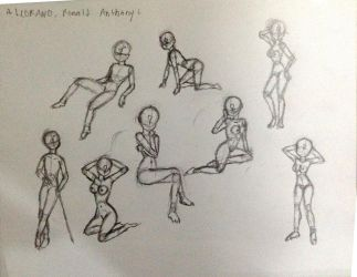 Dynamic poses practice by roanalcorano