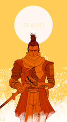 Sekiro Shados Die Twice by l1ncher