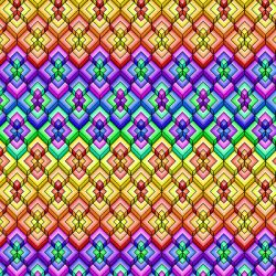 Colorful Level Pattern by Humble-Novice