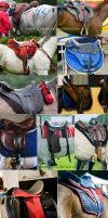Saddle Stock 1 by Colourize-Stock