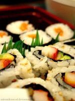 Sushi. by miisunderstood