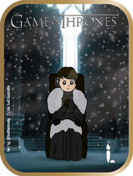 Brandon Stark - Game of Thrones. by Ledilustrado