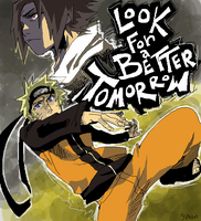 look for a better tomorrow by spacedrunk