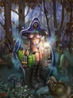 The Midnight Soman Boutique by gkpainting