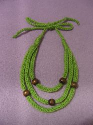 Beads Necklace by eva-crochet