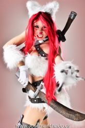 Kitty Cat Katarina Cosplay. League of Legends. by MorganaCosplay