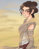 Rey by flamingmarshmallows