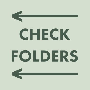 CHECK FOLDERS by Aerozopher