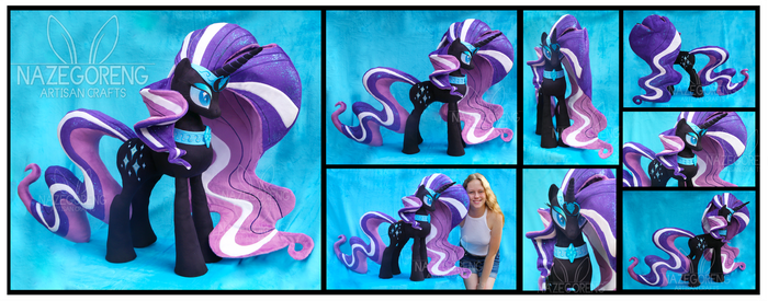 Nightmare Rarity Custom Plush by Nazegoreng
