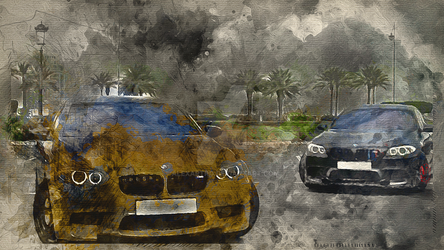 BMW m5 f10 by alexartro