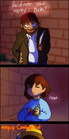 Undertale - Alphys' great mobile features 2 by lyoth737