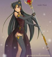 Comission: Sailor Pluto by Omen-of-SilverWing