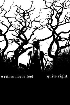 Writers Never Feel by fallenidle