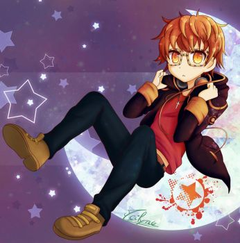 Chibi Seven - Mystic Messenger by Meilyna