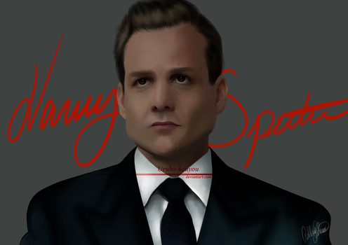 Harvey Reginald Specter by Uruha-Kouyou