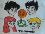 Toonami Couples by JQroxks21