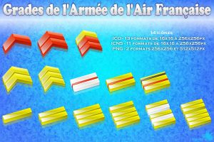 Grades armee de l'air by Kavel-WB