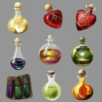 Potions Algadon by Seraph777