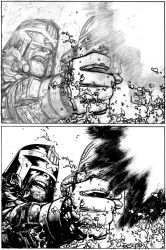 JD NYCC commission pencils and inks by Spacefriend-KRUNK