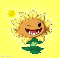 Primal Sunflower by NgTTh