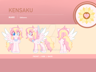 Kensaku Reference Sheet by Centchi