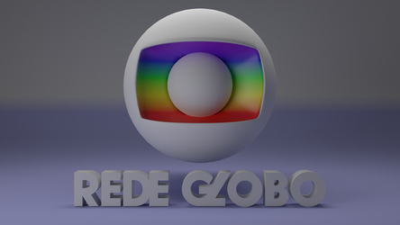 Rede Globo 2015 3D Logotipo (Outdated) by CubenRocks