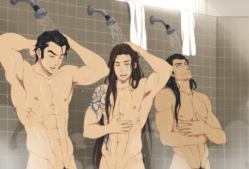 That shower made me so wet by ichan-desu