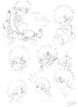 Gaara drabbles...again by goiku