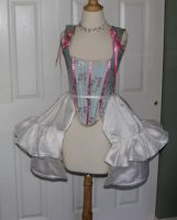 18th Century Corset +Panniers by AlAlNe