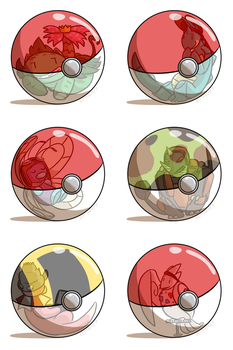 Petty Nuzlocke Challenge-- Pokeball Meme LG ed. by pettyartist