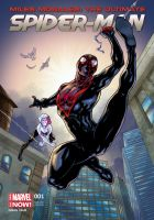 Miles Morales Variant Cover by sonicboom35