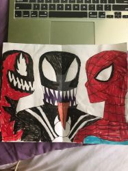Two symbiotes one Spider