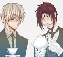 Sebastian and Soushi by AmuletDia-Chan