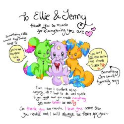 For Ellie and Jenny by lulu-fly