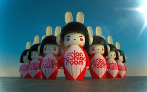 AFR New Year Kokeshi. by Shelest