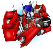 Optimus and Causeway - Passionate Kiss by Elita-One-Arts
