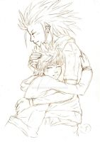 Akuroku 'Craving' - Sketch by Cameco