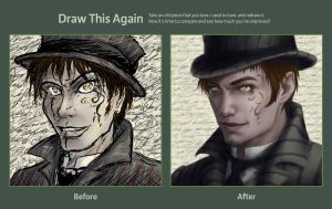 Draw this Again Challenge : Scribbly by Splintter