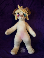 Marty : Anthro Plush by NoxxPlush