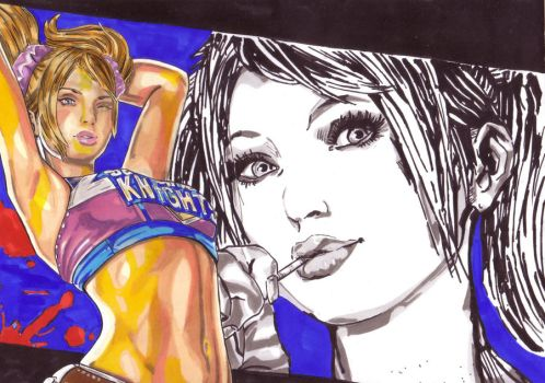 Lollipop Chainsaw by Thestickibear