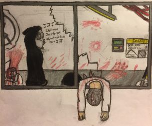 SCP-3099 Escape by XDemonic-AngelX