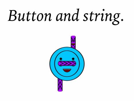 Happy button and happy string! by AllHailShadow916