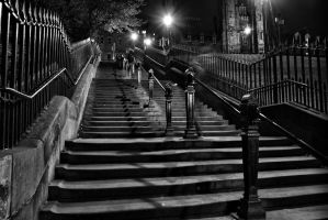 Playfair Steps Edinburgh by BusterBrownBB