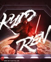 Kylo Ren by Changinghand
