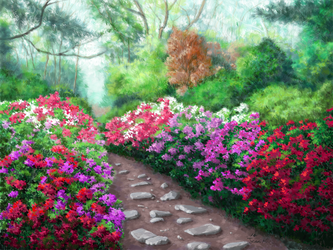 Garden by abyss1956