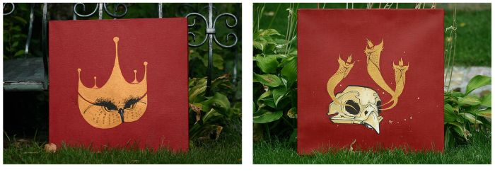 canvases by Arnou