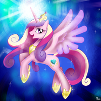 Princess Cadence by RenoKim