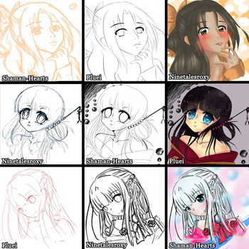 Switcharound Meme With Roxy and Pluei by Shaman-Hearts